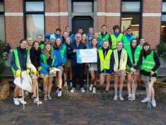 Scholen en Chiro ontvangen samen 3.648 euro voor geleverde inspanningen tegen zwerfvuil in Stoetersdorp