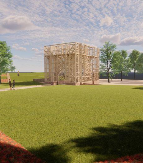 Het monument van de Noordpoort in Brielle hoort bij Bastion IX en niet op een rotonde