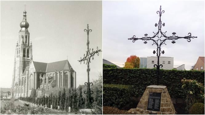Torenkruis Sint-Katharinakerk uit 16de eeuw hersteld
