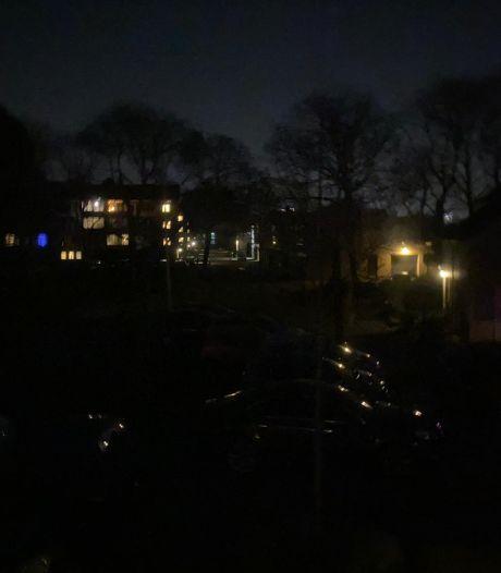 Straten pikdonker in Eindhoven door stroomstoring