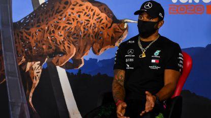 """Lewis Hamilton: """"Dit jaar de wereldtitel behalen zou nog meer betekenen"""""""