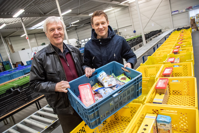 De Zwolse voedselbank kan ook komend jaar rekenen op een bijdrage van de gemeente (archieffoto).