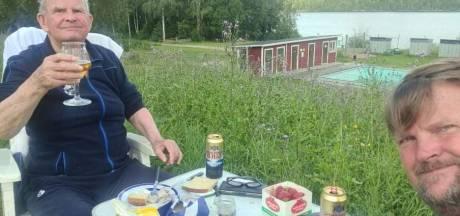 Peter junior en Peter senior uit Almelo trekken samen door Zweden: 'We zijn vrienden geworden'