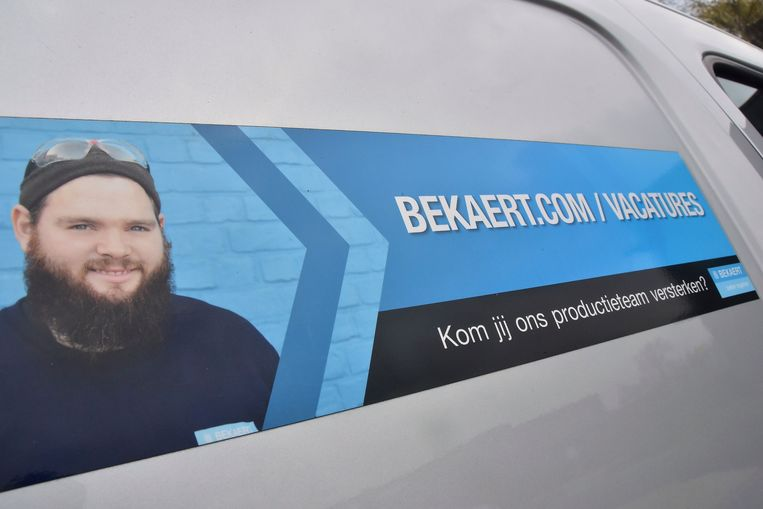 Staaldraadproducent Bekaert voerde de jongste maanden een intensieve wervingscampagne maar schrapt nu 281 jobs.