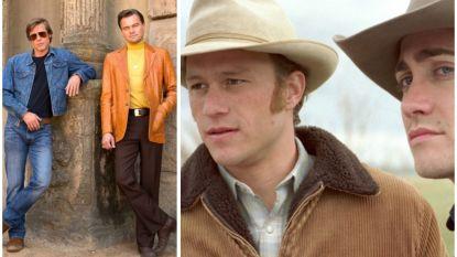 Leonardo Di Caprio en Brad Pitt hadden al véél eerder samen kunnen acteren, in 'Brokeback Mountain'