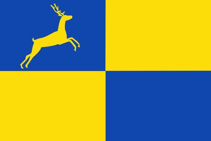 De vlag van Putten.