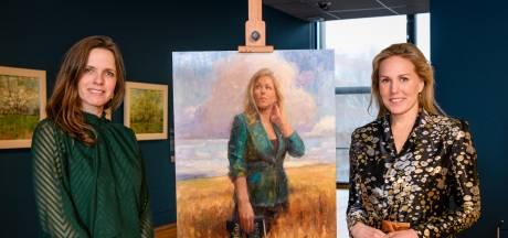 Doesburgs schilderij winnaar in Sterren op het Doek: 'Mijn eigen hand stond model'