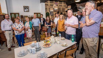 Britten doen opnieuw inspiratie op in winkelstad Roeselare