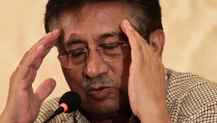 Pervez Musharraf Beeld epa