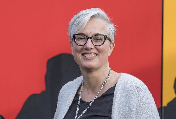 Marianne Pekkeriet van stichting De Welle die zich inzet om eenzaamheid te bestrijden.