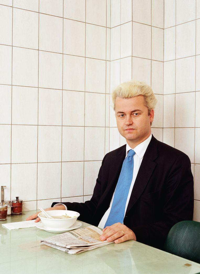 Geert Wilders. Beeld Henk Wildschut