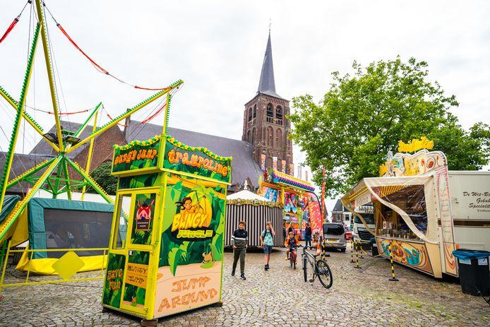 Moergestel is vooralsnog een van de weinige dorpen in Brabant waar, na de versoepeling  van de coronamaatregelen, de kermis deze week weer van start mocht.
