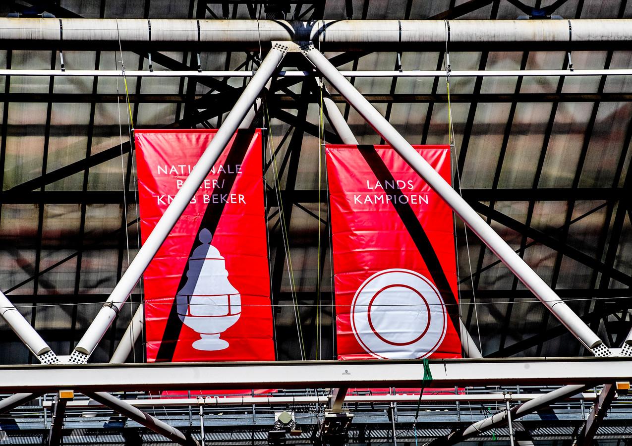 Ajax is landskampioen en bekerwinnaar 2020/2021.