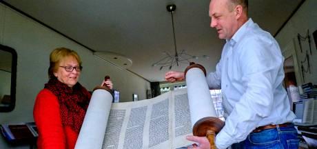 Thorarol van Dordtse synagoge boven water