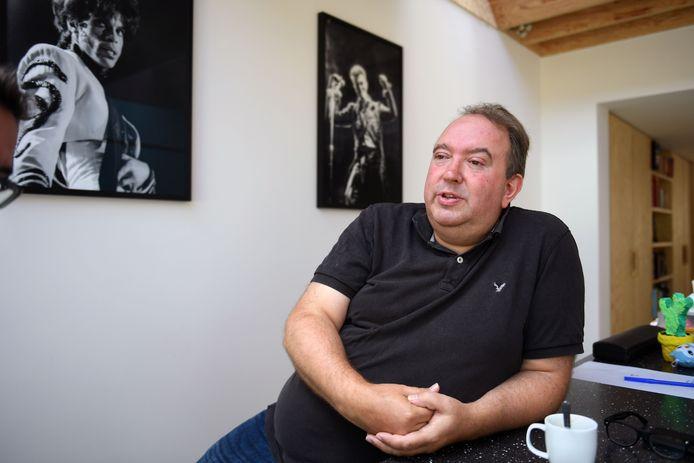Mike Naert is directeur van de Leuvense concertzaal Het Depot en hoopt vanaf 1 september weer op volle capaciteit te kunnen draaien.