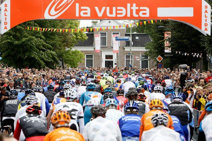 De Vuelta startte een keer eerder in Nederland. In 2009, in Assen.