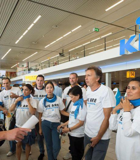 Voorlopig stakingsverbod grondpersoneel KLM blijft in stand