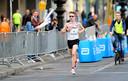 Bart van Nunen tijdens de marathon van Berlijn