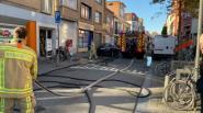 Brandweer rukt uit voor keukenbrand in Van Campenhoutstraat