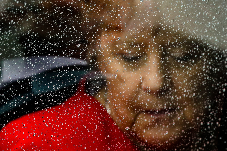 Angela Merkel, vrijdag in Berlijn. Beeld Markus Schreiber / AP
