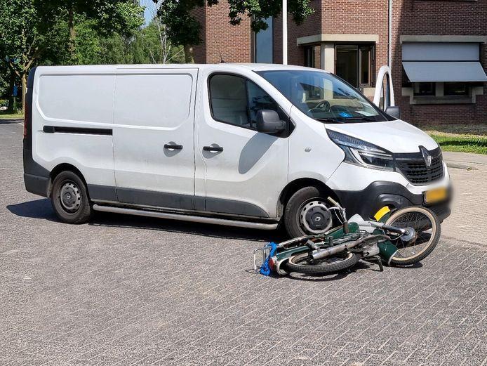 Ongeluk in Wageningen.