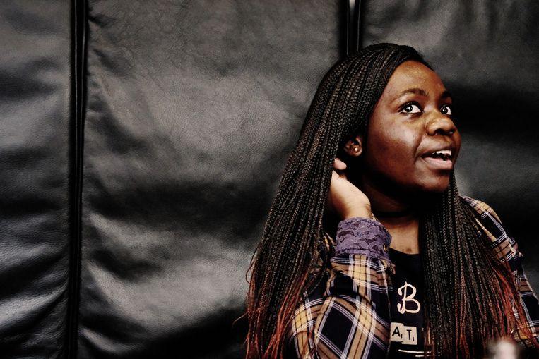 Nozizwe Dube: 'Jongeren zijn volwaardige burgers.' Beeld Tim Dirven