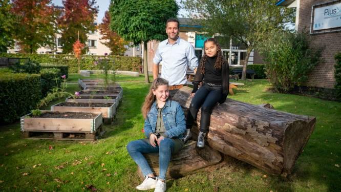 Leren tussen de kweekbakken, Bemmelse school vergroent: 'Lekker buiten bezig zijn'