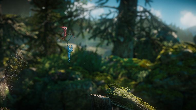 Het breigarenbeestje uit de eerste 'Unravel' heeft er een maatje bij. Beeld Electronic Arts