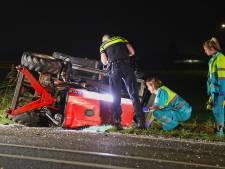 Politie sluit J.F. Kennedybaan in Oss af voor reconstructie dodelijk ongeluk met tractor