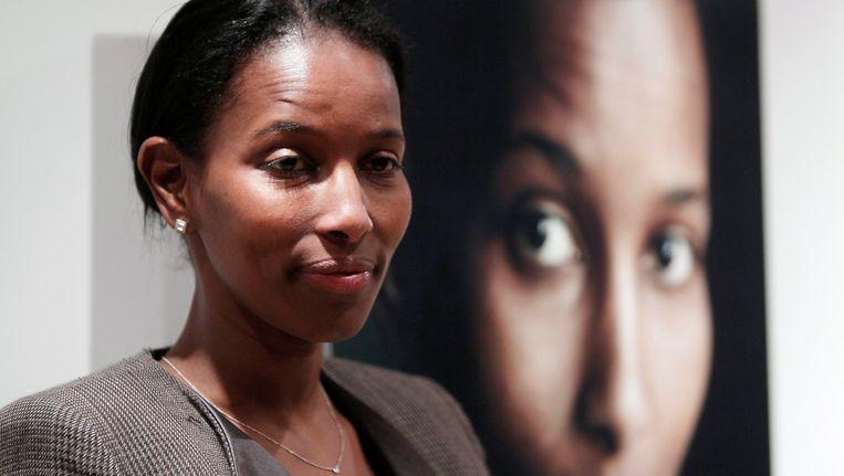 Ayaan Hirsi Ali, fel tegenstandster van meisjesbesnijdenis. Beeld EPA