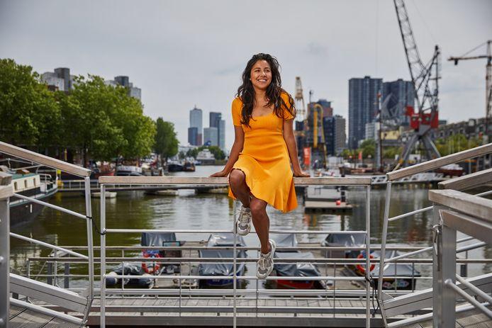 In Rotterdam voelt Talitha Muusse zich thuis. Een 'nonchalante plek', waar ze zichzelf kan zijn.