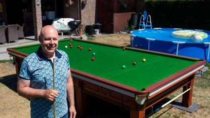 """Opening snookerzalen nog niet in zicht: """"Dan installeer ik zelf maar biljarttafel in m'n tuin"""""""