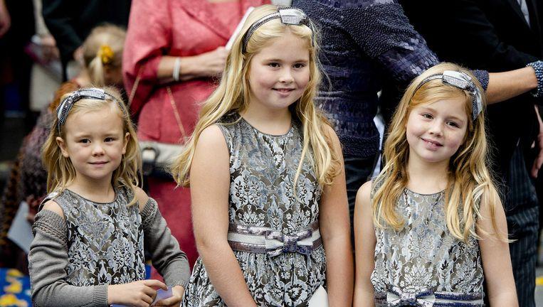 Amalia, Alexia en Ariane Beeld ANP