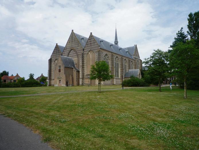 De Nicolaaskerk in Brouwershaven.