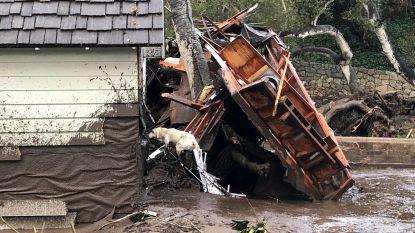 Minstens vijftien doden door modderstromen in Californië