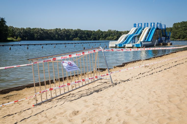 In augustus was er een algemeen zwemverbod door blauwalgen aan de Blaarmeersen.