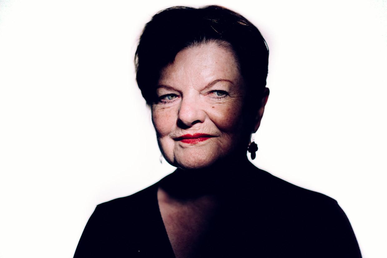 Janine Bischops. 'Ik weet niet of het echt goor is, maar in mijn dromen heb ik eens gevrijd met Karel De Gucht.'