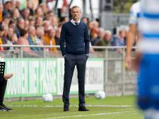 Van Wonderen voelt bij GA Eagles positieve energie na winst in IJsselderby: 'Maar niet hooghartig worden, tegen PSV wordt topprestatie gevraagd'