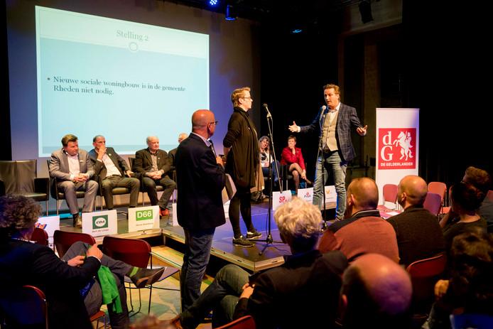 Het verkiezingsdebat van De Gelderlander.
