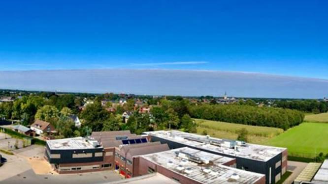 Indrukwekkende wolkenmuur verschijnt boven Antwerpen