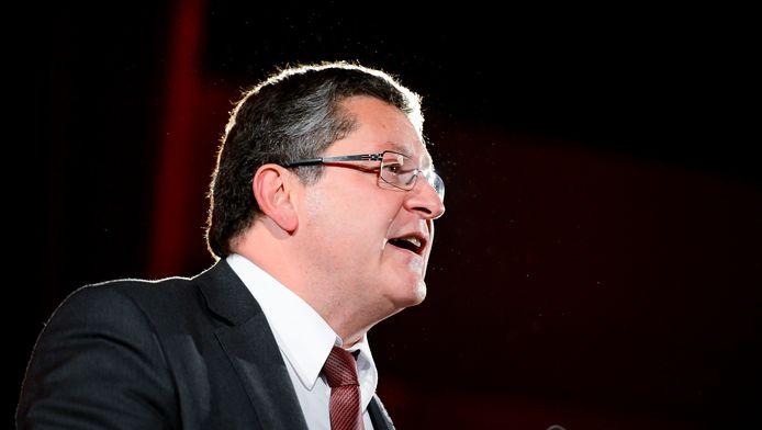Thierry Giet, président du PS.