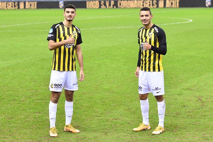 Armando Broja en Oussama Darfalou zijn er klaar voor. Coach Thomas Letsch wil met de huurling van Chelsea en de Algerijnse international beginnen tegen VVV-Venlo.