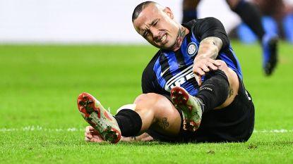 Icardi bezorgt Inter volle buit nadat Donnarumma zich helemaal miskijkt op voorzet, Nainggolan valt al snel uit met voetblessure
