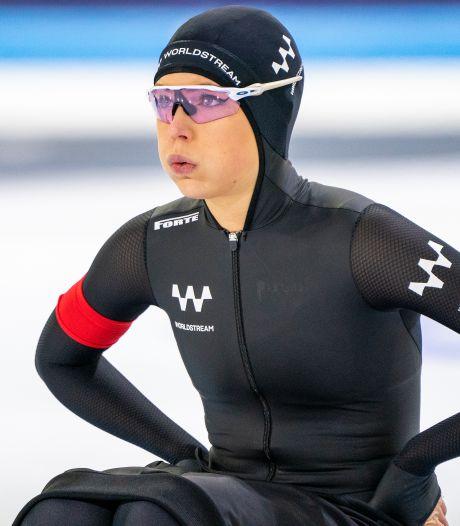 Jutta Leerdam sleept WK-ticket in de wacht