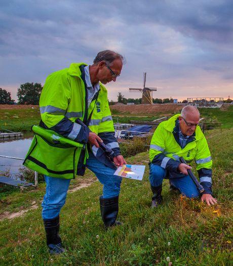 Waterschap oefent voor hoogwater bij het Steurgat