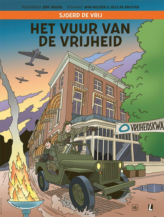 Cover van Sjoerd de Vrij - Het Vuur van de Vrijheid.