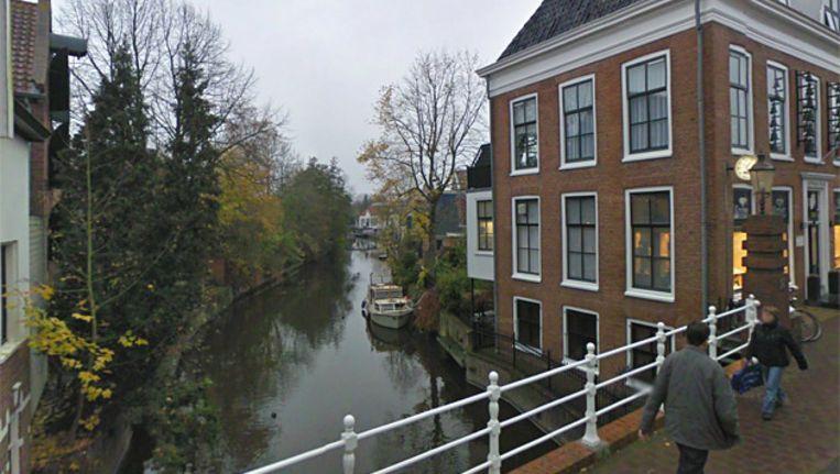 Het Damsterdiep in Appingedam. Beeld BEELD GOOGLE STREETVIEW