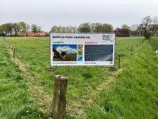 Spandoeken voor behoud buitengebied Hasselo: 'Wij dagen de gemeente Hengelo uit om bij zinnen te komen'