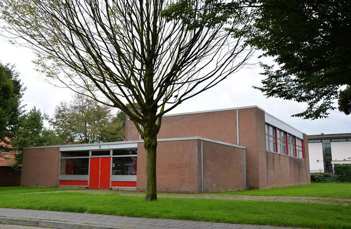 De sportzaal aan de Armgardstraat in Doesburg.