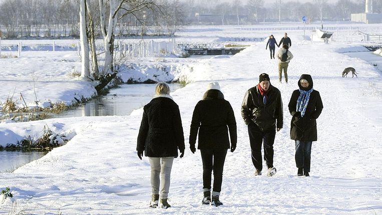 Alleen wandelen is niet voldoende om fit te blijven Beeld Novum / Erald van der AA